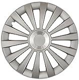 Cartrend 70274 Kit d'enjoliveurs «Meridian», anneau chrome, 4 pièces, 38,10 cm (15 pouces)
