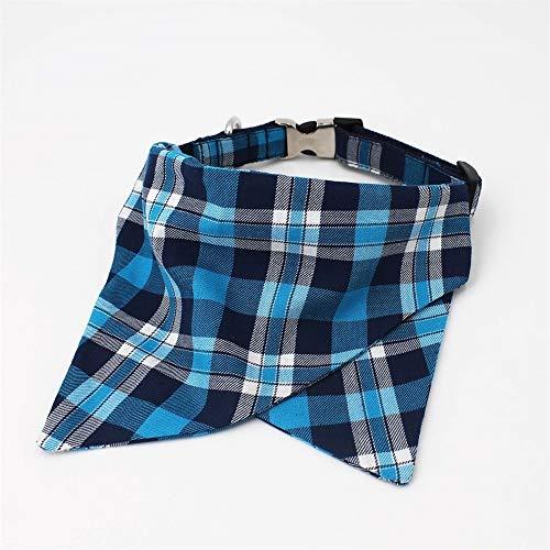 Romantische Nacht 99 Handen Gratis Hond Leash Plaid Hond Kraag Shirt Banadana Kraag Met Bow Tie, Gepersonaliseerd Voor Knappe Jongen Hond ####2541, M(30 45cm), Bandana and collar