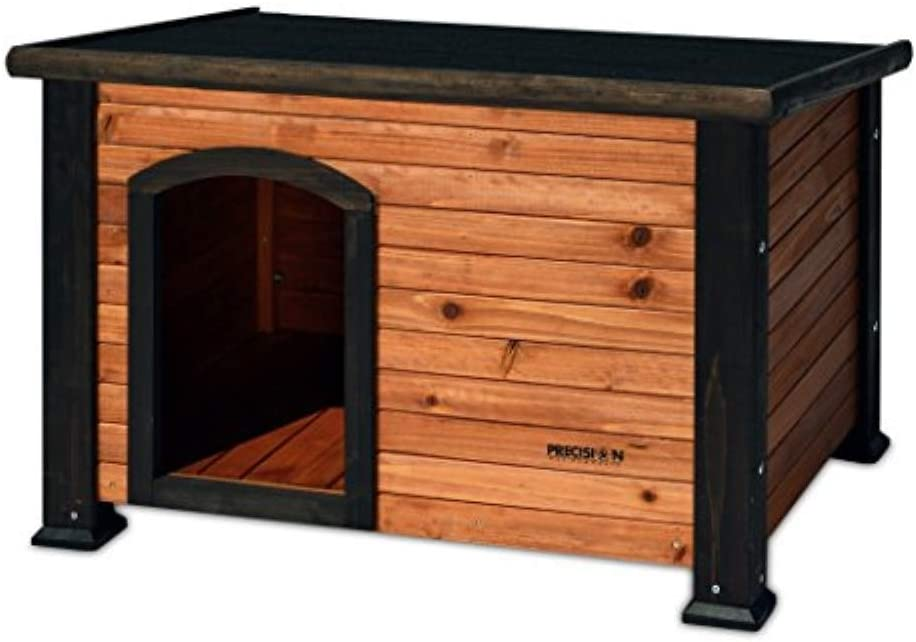 Petmate Precision Extreme Outback Log Dog Credence House Same day shipping Cabin Small