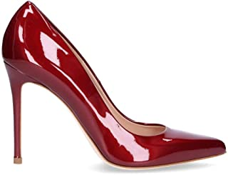 SERGIO LEVANTESI Women's MYSSRUBY Red Leather Pumps