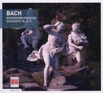 Bach: Brandenburg Concertos No. 4-6