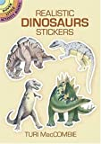 Realistic Dinosaurs Stickers (Dover Little Activity Books Stickers)