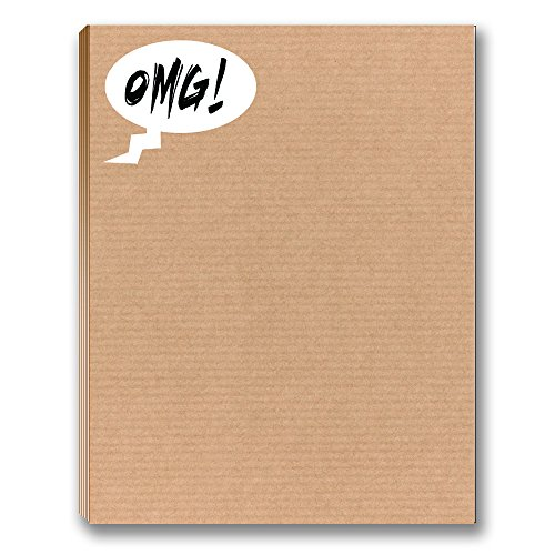 OMG - Funny Office Note Pad - 50 Sheets Per Pad - 4.25x 5.5 inches - Office Notepads