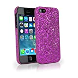 Hot pink glitter iphone case