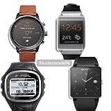 Maoni - Protector de Pantalla para Reloj Adidas miCoach Smart Run (antirreflectante, Mate)