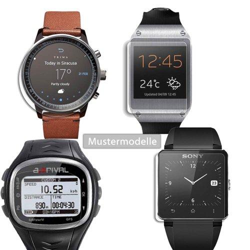 Maoni Anti-Reflex seidenmatte Displayschutzfolie für Huawei TalkBand B1 Smartwatch