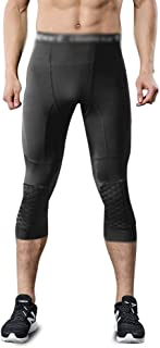 LUKEEXIN Men's Compression Pants Workout Running Tights Leggings