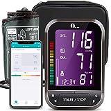 Misuratore Pressione Bluetooth da Braccio Digitale, 1byone Sfigmomanometro...