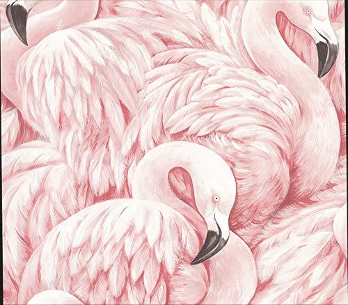 Advantage 2814-803204 Horace Light Pink Flamingos Wallpaper