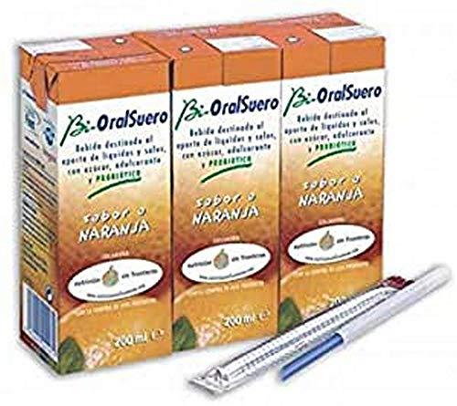 Bi Oral Bioralsuero 200 Ml Naranja 3 Tetrabik 500 g