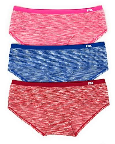Victoria's Secret Pink Hipster Panty 3er Set -  -  Mittel