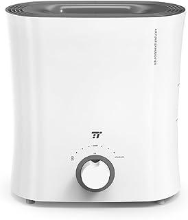 加湿器 TaoTronics 2.5L 気化式 蒸気式 空気清浄機 連続運転20時間 ミスト2つモード調節 静音 省エネ ウィッキングフィルターで抗菌 上から給水 5-12畳 オフィス 寝室 子供部屋 TT-AH017