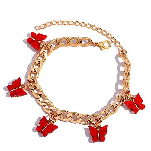 YFZCLYZAXET Jewellery Bracelets Bangle For Womens Fashion Cute Bracelet Ladies Simple Classic Bracelet Jewelry Party Gift-007201Rd
