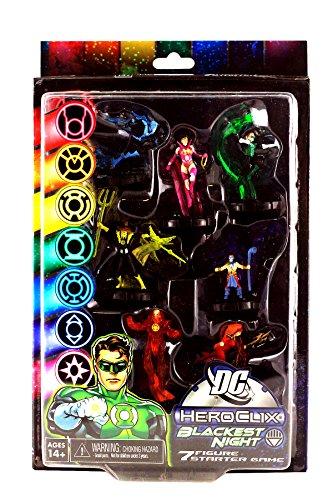 NECA DC Heroclix Blackest Night 7 Figure Starter Game