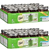 Ball Wide Mouth Pint Jars, 12 count (16oz - 12cnt), 2-Pack