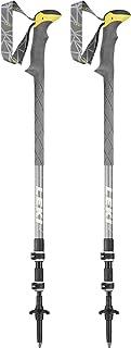 LEKI unisex – vuxna Sherpa XTG vandringsstrumpor gul-vit en storlek