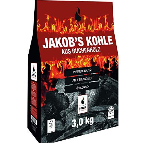 ACTIVA 'Jakob´s Grillkohle 3 kg Buche...