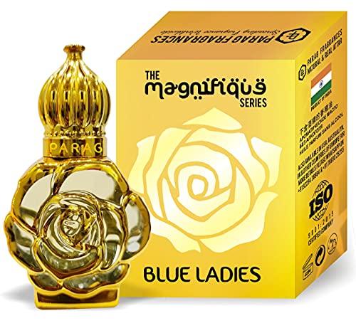 Parag Fragrances BLUE LADY ATTAR 12 ML BEST ATTAR FOR WOMAN ALCHOL FREE & LONG LASTING