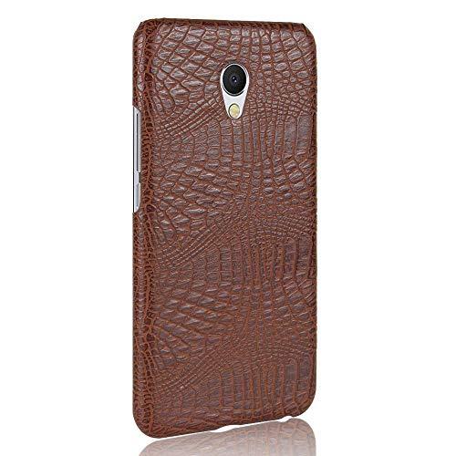 Manyip MEIZU MX6 Funda Case para teléfono móvil Rugged Shield 360°Protege tu teléfono Concha de patrón de cocodrilo Case Funda para MEIZU MX6