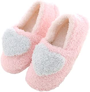 fd5640a7b Mini Balabala Cute Slippers Womens Mens House Shoes Indoor Slip-on Comfy Slipper  Boots Girls