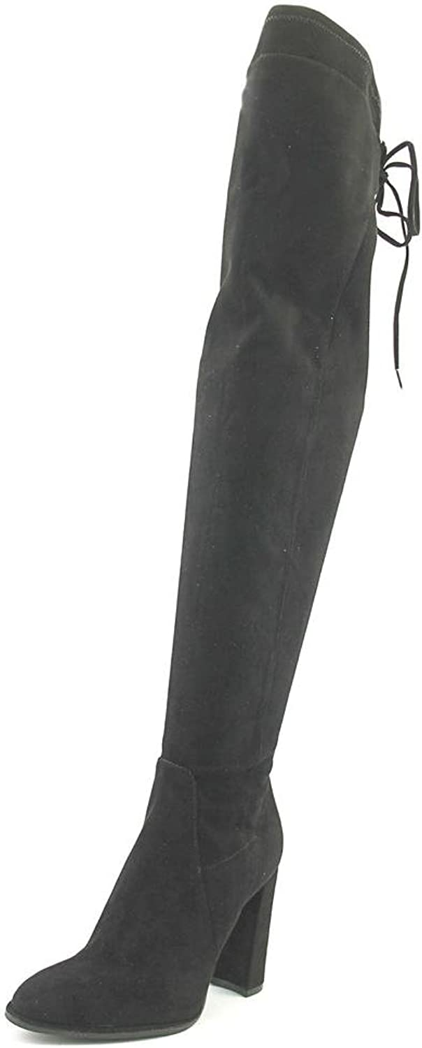 Marc Fisher Nio Women US 5 Black Over the Knee Boot