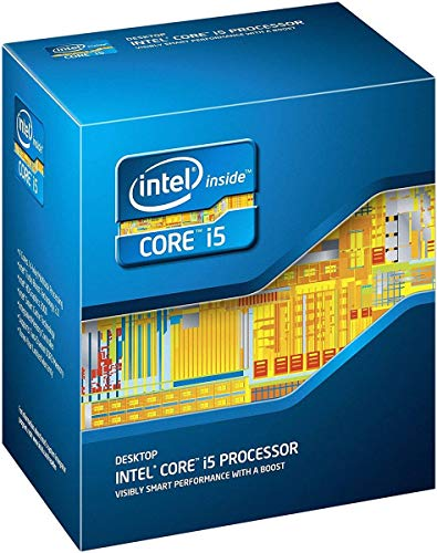 Intel Core i5–2500processore Quad-Core 3.3GHz 6MB Cache LGA 1155–BX80623I52500(Ricondizionato)
