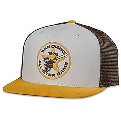 MLB American Needle Pastime Gatekeeper Cooperstown Mesh Back Adjustable Snapback Hat