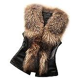 Clearance Sale!Nevera Womens Faux Fur Vest...