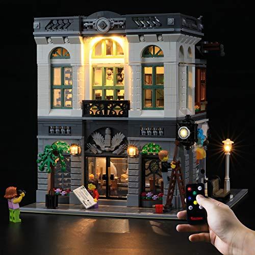 BRIKSMAX Kit de iluminación LED Lego Creator Expert Banca di mattoni - Compatible con Lego 10251 Building Blocks Model- No incluir el Conjunto de Lego