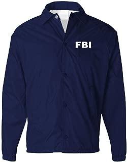 FBI - Bureau Novelty Duty Costume Jacket - Mens Coaches Jacket
