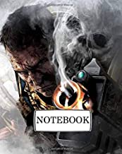 "Notebook: Warhammer 2: Pocket Diary, Lined pages (Composition Book Journal) (8"" x 10"")"
