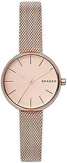 Skagen SKW2618 - Reloj de pulsera para mujer, de malla de acero inoxidable, color oro rosa