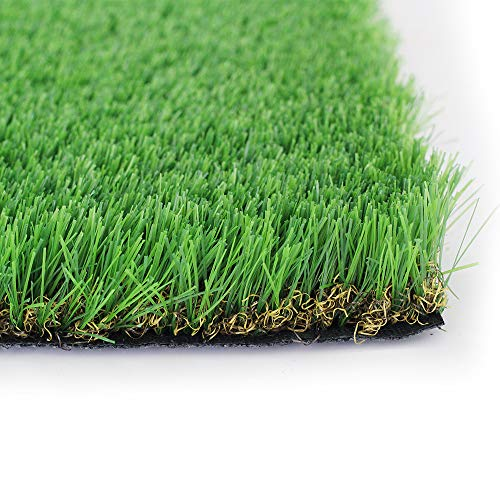 · Petgrow · 40mm Realistic Artificial Grass Turf,Deluxe Synthetic Thick Lawn Turf Carpet Perfect for Indoor Outdoor Landscape High Quity (6FTX10FT)