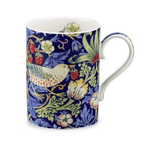 Portmeirion Strawberry Thief Mug, 0.35L Blue (0.35l Mugs)