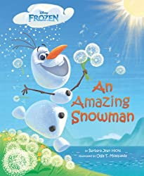 Frozen - An Amazing Snowman Book for Children