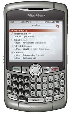BlackBerry 8310 Curve GPS Titan Vodafone (Prosumerund Enterprise)