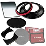 WonderPana 66 FreeArc Esenciales ND 0.6 BD - Adaptador de Filtros 145mm y 6.6x8.5, Tapa de Lente, 6.6x8.5' 0.6 Filtro de Densidad Neutra Degradado de Borde Duro y ND16 145mm Filtro de Densidad Neutra para los Lentes 14mm Varios de Fotogramas Completos (es decir, Samyang, Rokinon, Vivitar, Bower, Pro-Optic, Bell & Howell)