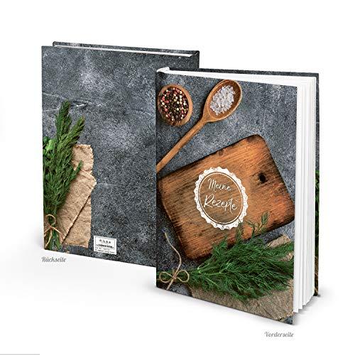 Logboek uitgeverij leeg receptenboek kookboek om zelf te schrijven, DIN A4, kerstcadeau