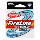 Berkley Fireline Micro Ice Fused Original Fishing Line(4/1-Pound,Smoke)
