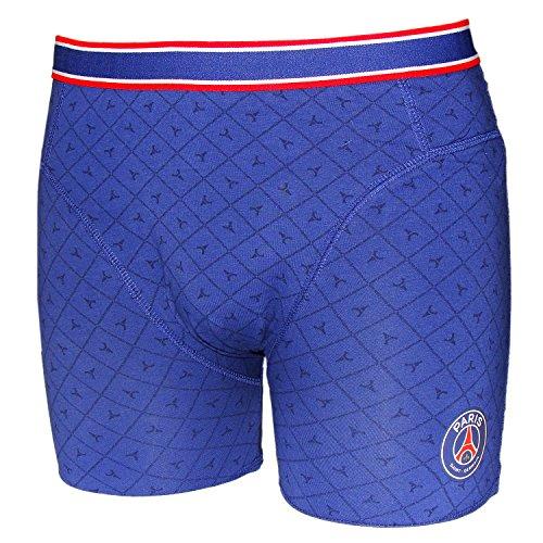PSG - Boxer Homme Paris Saint-Germain Officiel - Bleu (L)