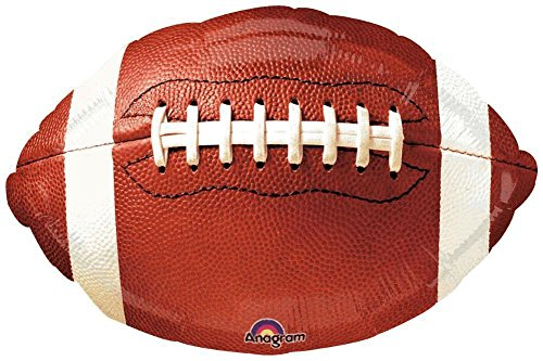 Folienballon american football anagram ca. 50x39cm