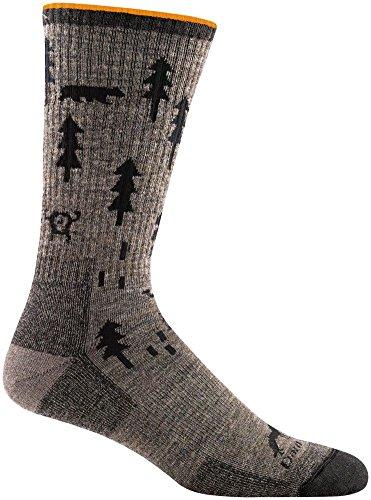 Darn Tough ABC Boot Cushion Sock - Men's Taupe Large
