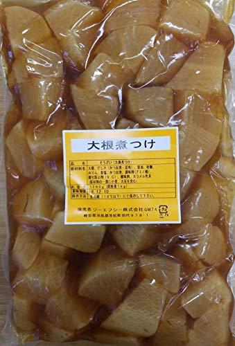 惣菜 大根 煮つけ 1260g(固形1kg)×10P 冷蔵 業務用