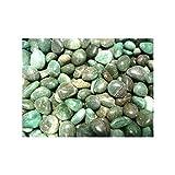 Rodados de Cuarzo Verde (Pack de 250 gr) 3x2 cm Minerales y Cristales, Belleza energética, Meditacion, Amuletos Espirituales