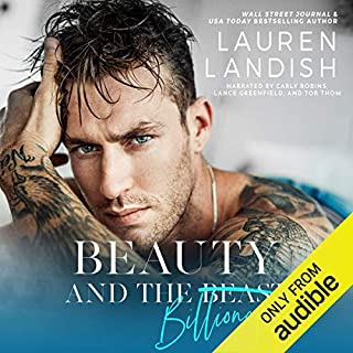 Beauty and the Billionaire audiobook cover art