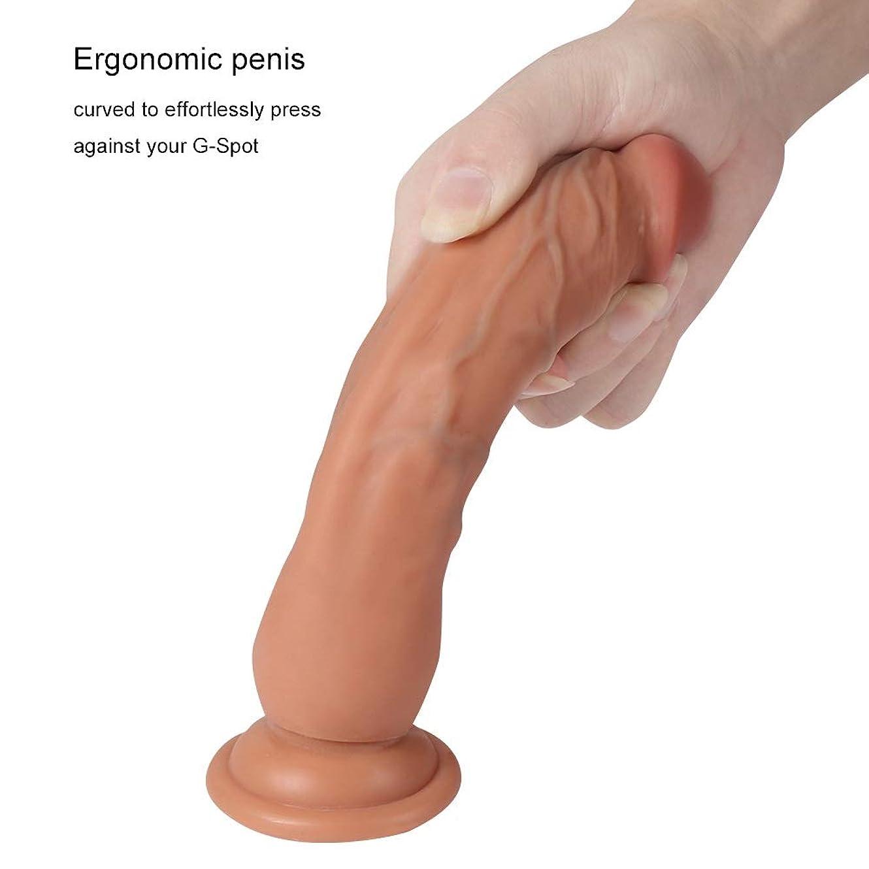 変形副思春期の長いサイズ - 7.28インチの女性の男性の初心者のための優れた杖