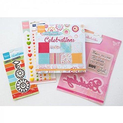 Marianne Design Card Set, verschiedene, mehrfarbig, Regular