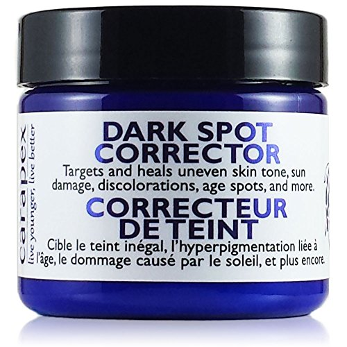 Carapex Dark Spot Corrector for Acne Scars, Age Spots, Sun Damage & Uneven Skin Tones - Skin Lightening Cream for Face, Body and Hands, Fragrance Free (Single)