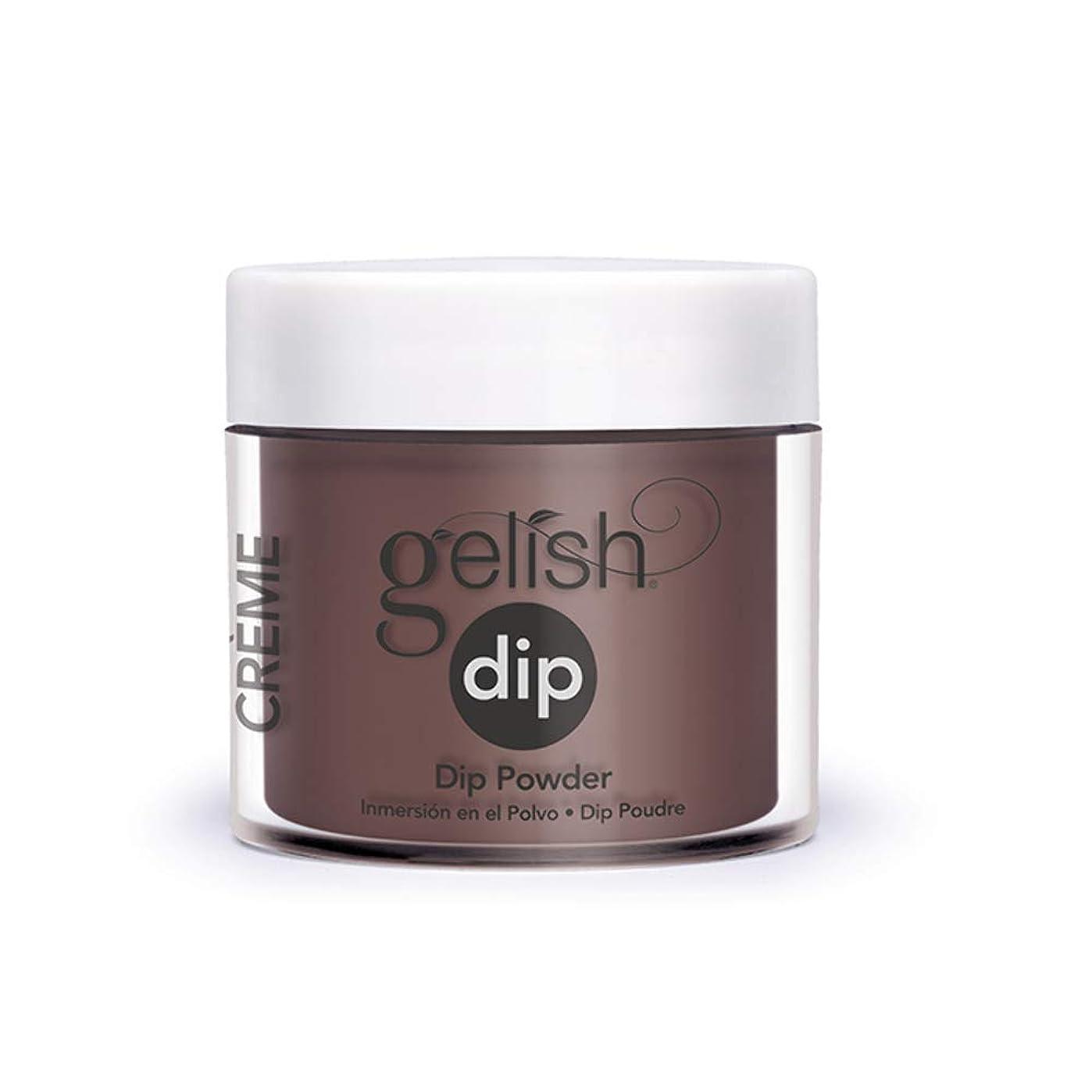 究極のウッズ感じHarmony Gelish - Acrylic Dip Powder - Pumps or Cowboy Boots? - 23g / 0.8oz