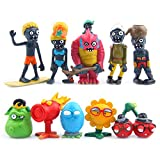 PlantsVsZombies Plants VS Zombies - Set 10 Figuras 3-8cm / PVZ 10...